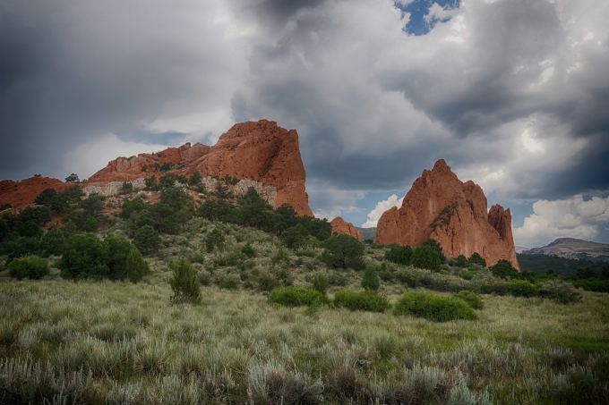 Garden of the Gods in Colorado Springs, Colorado.
