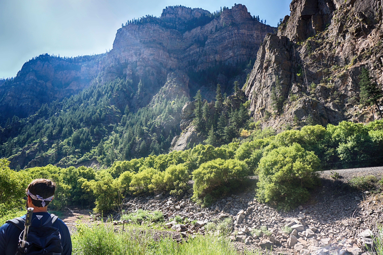 Glenwood Springs hiking - Hanging Lake Trail