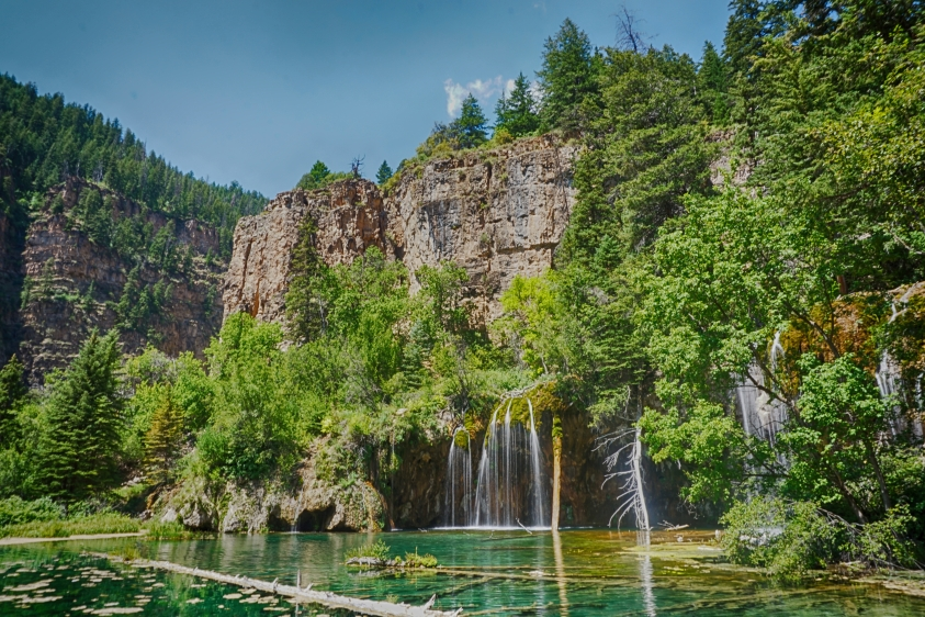 Glenwood Springs hiking - Hanging Lake Trail